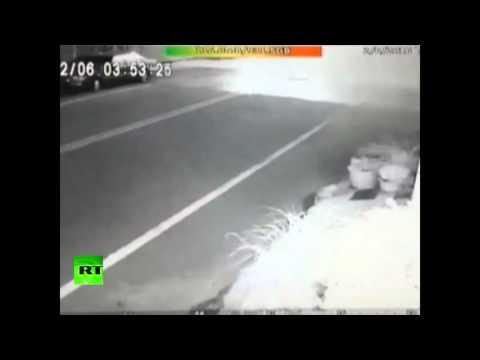 CCTV Footage: Moment 6.4 earthquake hit Taiwan