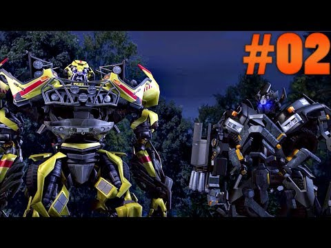 TRANSFORMERS: THE GAME #02 - JOGANDO COM OUTROS AUTOBOTS! (PS2)