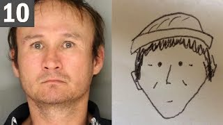 10 BEST and WORST Criminal Sketches