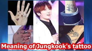 BTS - Meaning of Jungkook's tattoo