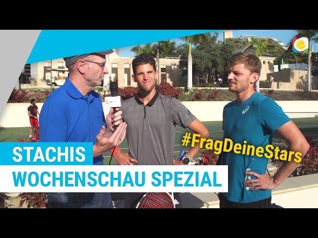 #FragDeineStars - Live aus dem Trainingslager von Thiem, Struff und Goffin | myTennis