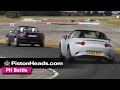 Mazda MX-5 vs Fiat 124 Spider | PH Battle | PistonHeads
