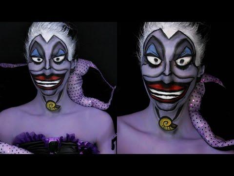 Disney Villain Series Part 8: Ursula The Little Mermaid Makeup Tutorial