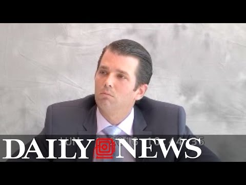 Donald Trump Jr. deposition: part 1