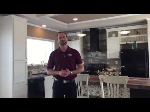Tyler Tours the Gorgeous Santa Fe Manufactured Home in Oklahoma City