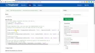 Erstellen Sie Neue MATLAB-Visualisierung auf thingSpeak Kanal - thingSpeak & MATLAB-tutorial S. 3