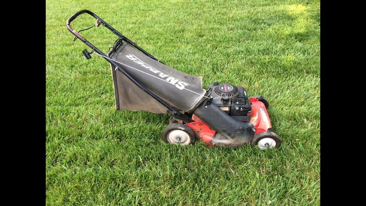 Snapper Push Lawn Mower Model 215014 Craigslist Find Sad