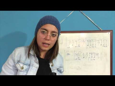 134. CLASE DE SOLFEO/ EJERCICIOS RITMICOS - Compases Nº5 - (Para TODOS los MUSICOS)