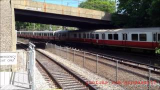 MBTA Wollaston and Quincy Center