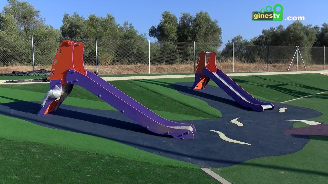 Entran en su recta final las obras del nuevo parque junto a las VPO 'Biedma-La Encina' de Gines