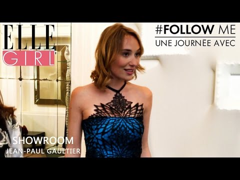Follow Me, une journée avec... Déborah François  room Gaultier  Exlu ELLE Girl
