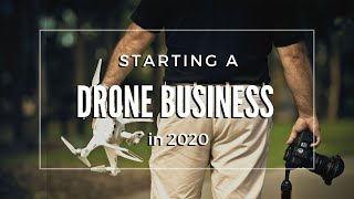 Top tips for starting your drone business in 2020