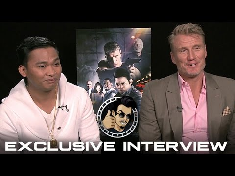 Tony Jaa and Dolph Lundgren Interview - Skin Trade (HD) 2015