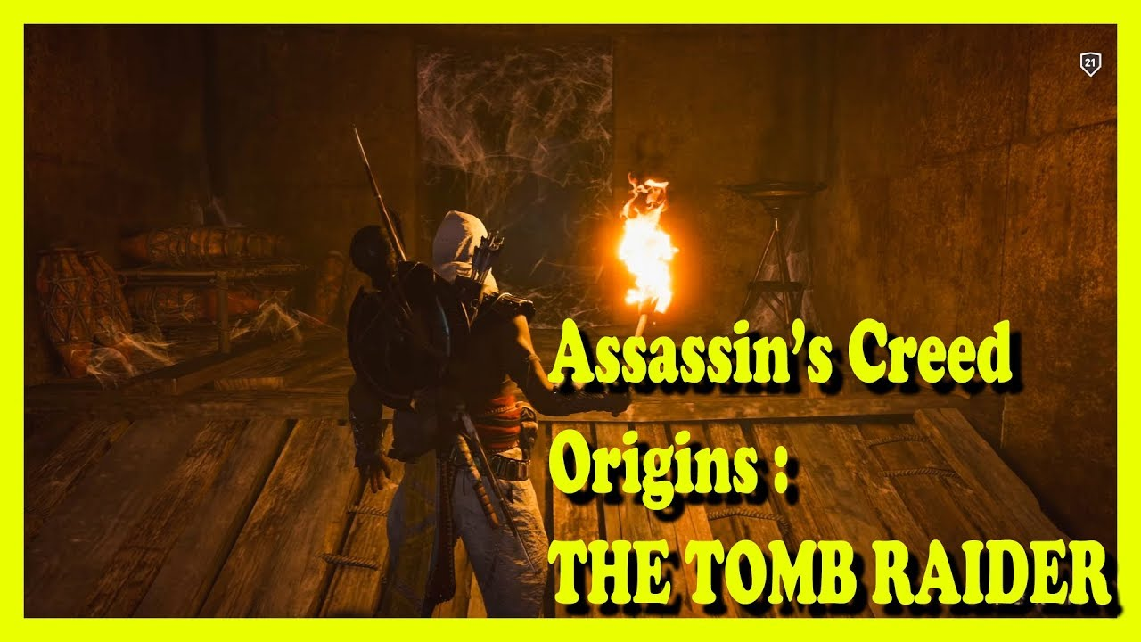 Assassin's Creed Origins - The Tomb Raider [1080p] - YouTube