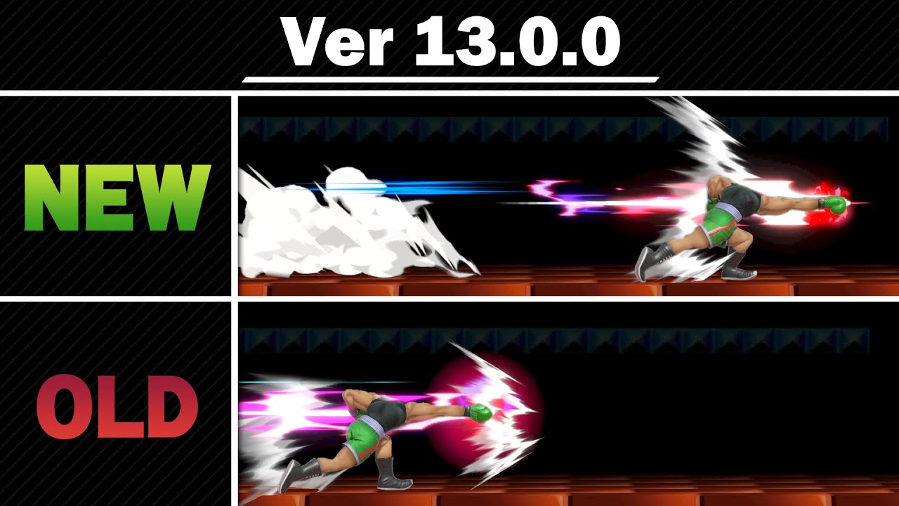 Download Smash Ultimate Patch Notes 13.0.0 - Side by Side Comparison