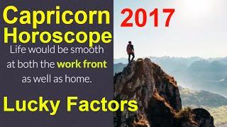 Capricorn Horoscope 2017 And Makar Rashi Lucky Factors. Capricorn 2...