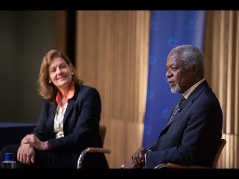 Kofi Annan In Conversation with Ngaire Woods