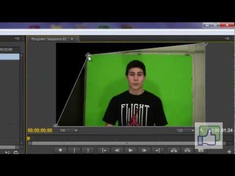 How To Chroma Key In  Adobe Premiere Pro Cs6- Cs5