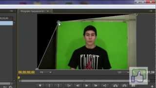 How to chroma key in  adobe premiere pro cs6- cs5
