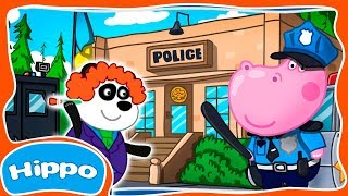 Гиппо 🌼 Детский полицейский участок 🌼 Злой гений Циркач 🌼 Мультик игра для детей (Hippo)