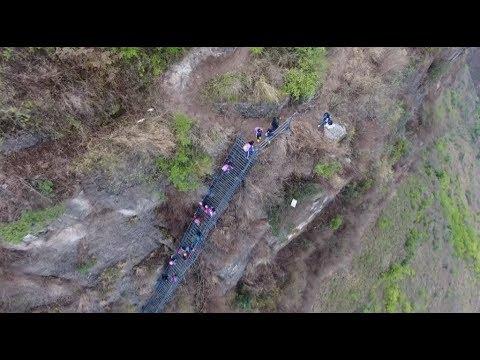 Amazing China: 'Cliff Village' Case Demonstrates China's Hard Battle Against Poverty
