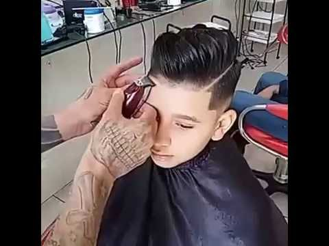 Little Boy Haircut And Hairstyle Undercut 2016 Youtube