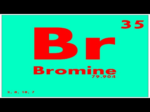 Study Guide 35 Bromine Periodic Table Of Elements Youtube