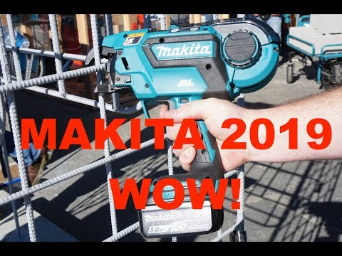 2019 Makita Tools Preview
