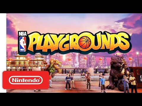 NBA Playgrounds Reveal Trailer - Nintendo Switch