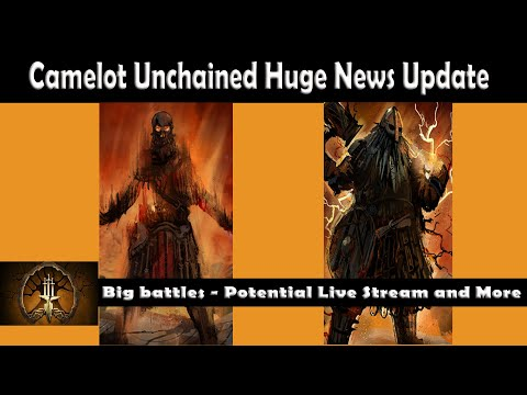 Camelot Unchained Updates Live Streaming And More!