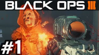 "Black Ops 3 ""Zombies Campaign"" Walkthrough Mission 1 Nightmares Hypocenter"