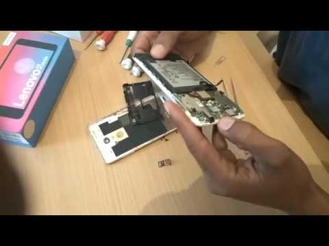 buy popular afe7f dff78 Repair Lenovo K6 Power New Seal Pack Phone How to Open Back Cover Remove  battery Hindi New