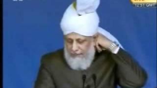 Проповедь Хазрата Мирзы Масрура Ахмада (30-07-10) часть 5