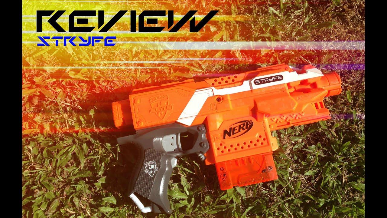 REVIEW Nerf N strike Elite XD Stryfe