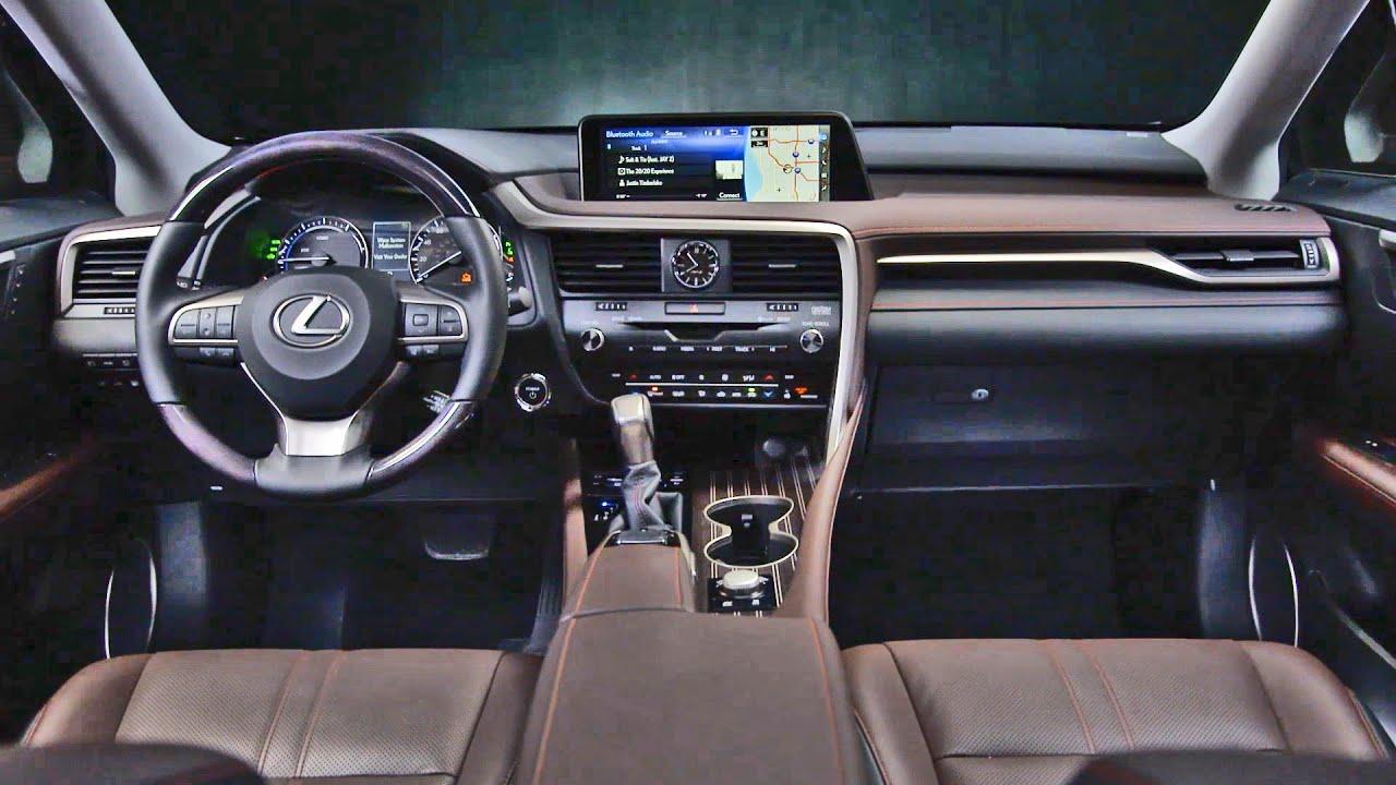 Interior 2016 Lexus Rx 450h