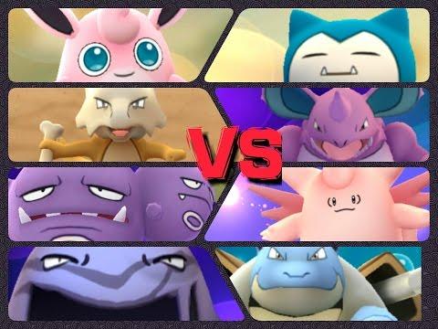 Pokémon GO Gym Battles LEVEL 10 GYM Weezing Alakazam Clefable Snorlax Muk & more