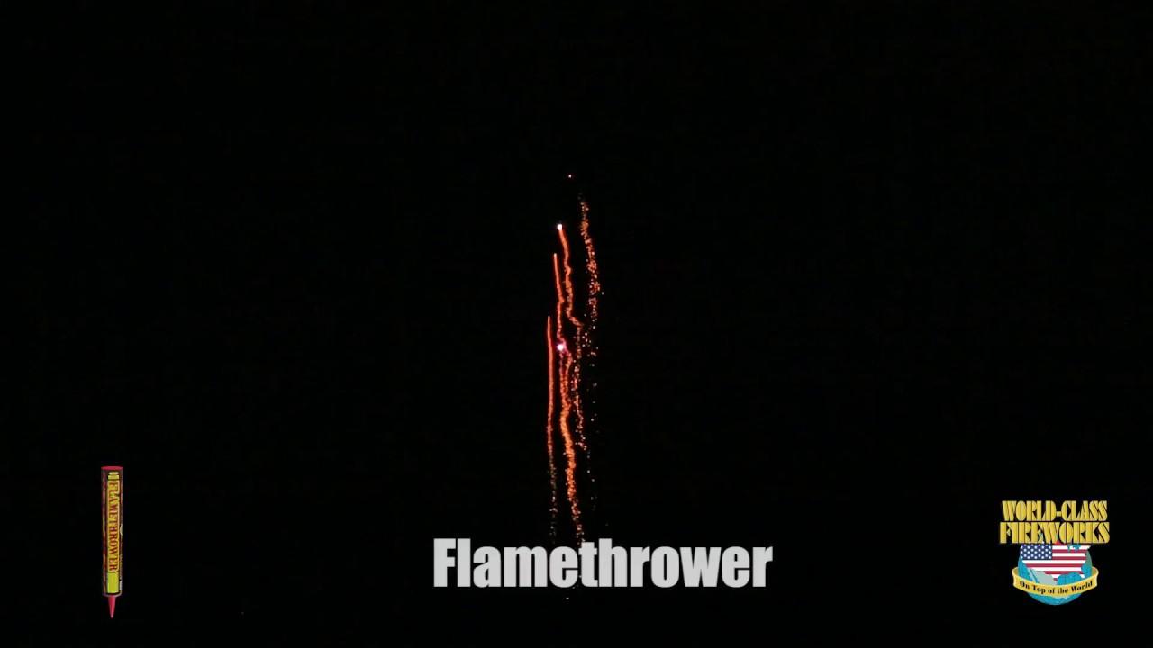 Flamethrower - World Class Fireworks