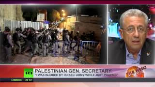 Violent clashes in Jerusalem  Israelis tighten security of al Aqsa mosque