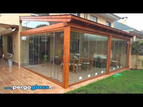Cortinas de cristal  Pergoglass 2012  YouTube