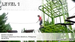 ROPES COURSE, Dahilayan Adventure Park