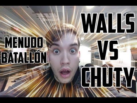 INCREÍBLE DUELO GENERACIONAL - WALLS VS CHUTY - REACCIÓN