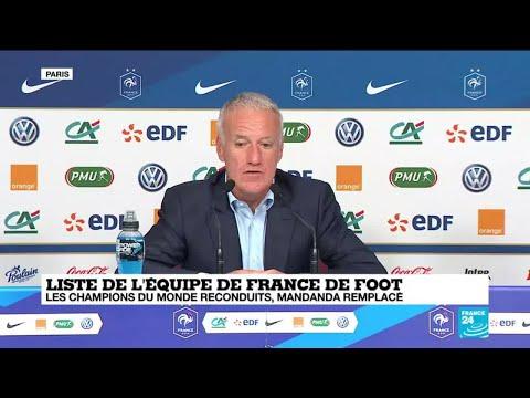 REPLAY : Conférence de presse de Didier Deschamps