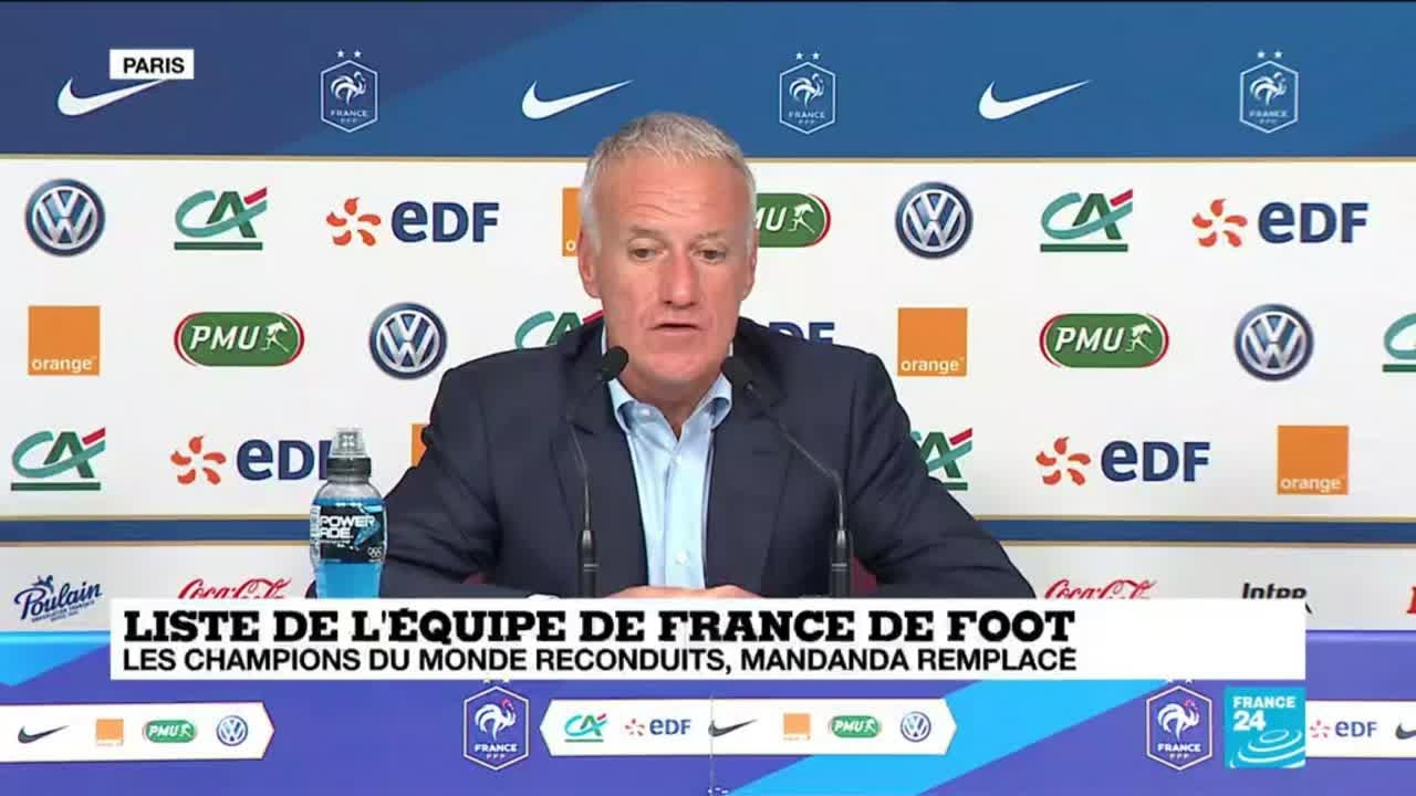 replay conf rence de presse de didier deschamps youtube. Black Bedroom Furniture Sets. Home Design Ideas