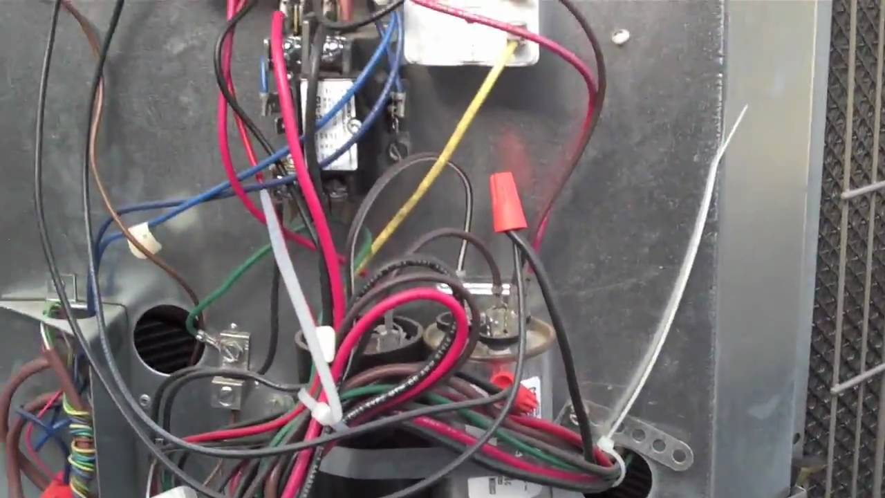Hvac Low Ambient Control Pressure Switch Youtube Carrier Split Unit Wiring Diagram