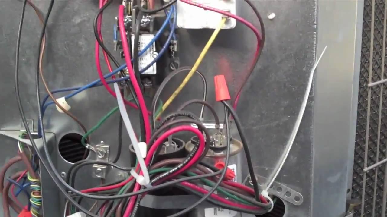 York Furnace Wiring Diagram Autopage Rf 310 Hvac Low Ambient Control (pressure Switch) - Youtube