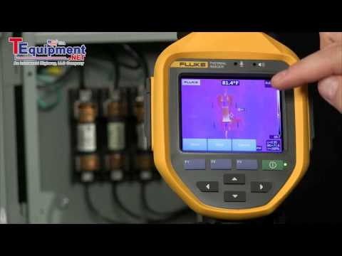 How to Set User Selected Markers on Your Fluke Infrared Camera