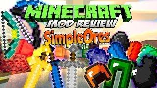 SIMPLEORES MOD | El mejor mod de armas y armaduras de Minecraft | REVIEW ESPAÑOL