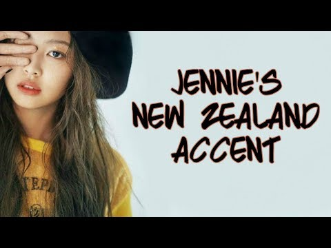 BLACKPINK JENNIE - NEW ZEALAND ACCENT COMPILATION ♡