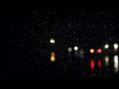 Rain Sounds Black Screen with Rain Drops Thunder Sounds Thunderstorm Relax Sleep ASMR Meditation