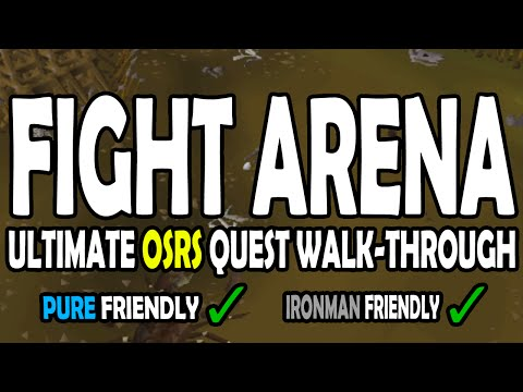 [OSRS] Fight Arena Quest Guide for Pures on Old School RuneScape